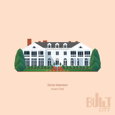 Original Illustration of Duke Mansion